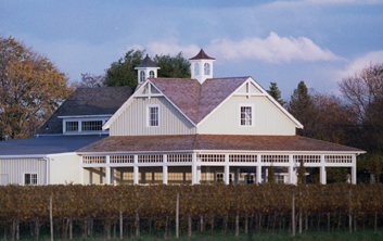 Merlot meets clapboard: Bedell Cellars is a prime example of a swell winery visit on Long Island's North Fork.