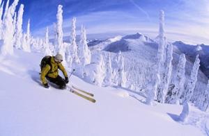 British Columbia's superlative skiing