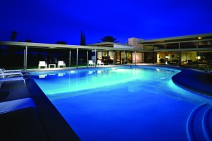 Twin Palms Frank Sinatra house Palm Springs California