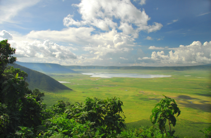 Africa Tanzania Ngorongoro Crater