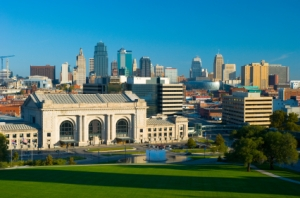 Skyline & Union Station, Kansas City, Missouri